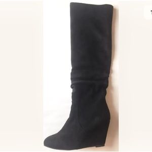 Jeffrey Campbell Revolucion Wedge Boot Black 10